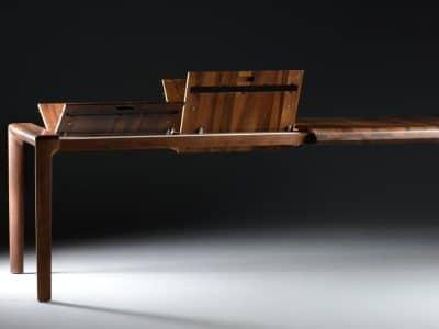 שולחן נפתח דגם INVITO ARTISAN אגוז 2