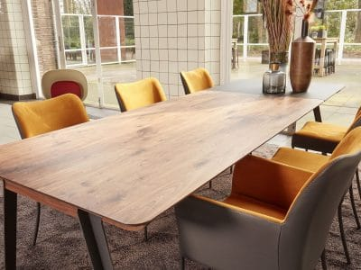 שולחן נפתח דגם JAZZ BERT PLANTAGIE אלון