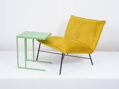 שולחן צד דגם SQUARE ירוק בהיר