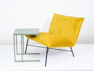 שולחן צד דגם SQUARE ירוק