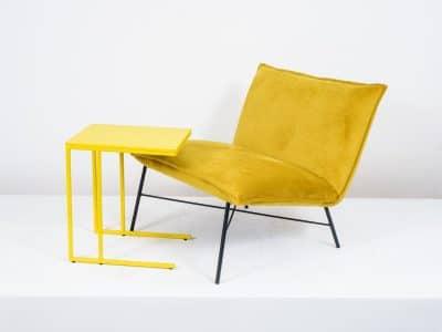 שולחן צד דגם SQUARE צהוב (2)