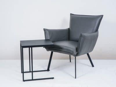 שולחן צד דגם SQUARE שחור 2