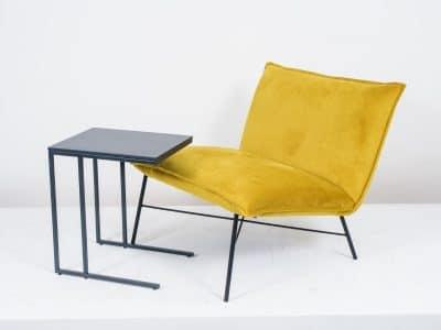 שולחן צד דגם SQUARE שחור (2)