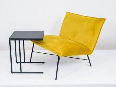 שולחן צד דגם SQUARE שחור 4