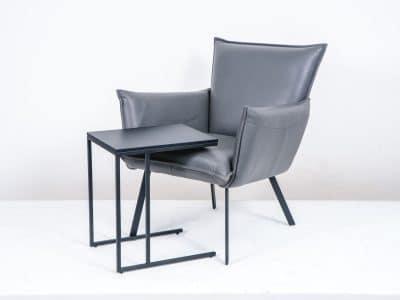 שולחן צד דגם SQUARE שחור